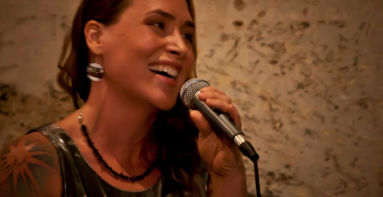 Kimberly Cooper sings with the Notsos!