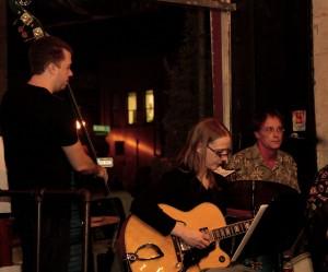 Jacob Appelt, Maristella Feustle, Steve Prouty