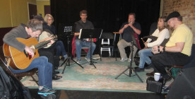 Irish Music Session Live at Banter